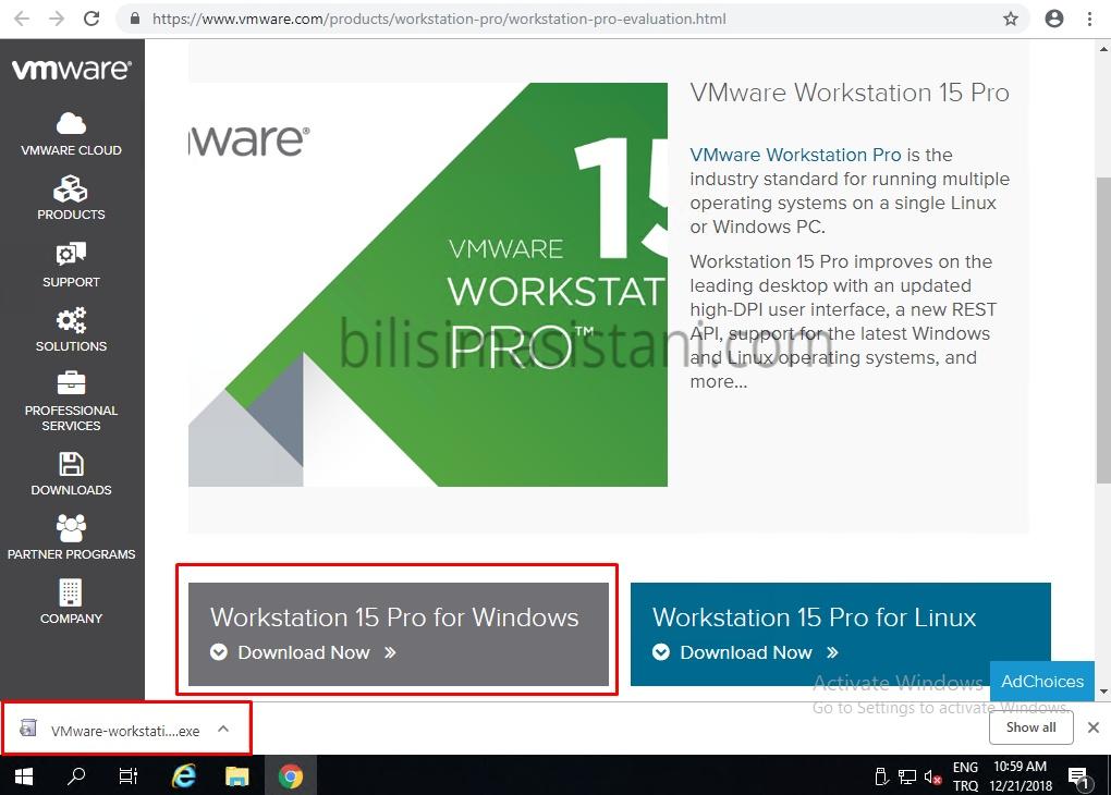 Vmware Workstation 15 Kurulum ve Özellikleri - Bilişim Asistanı