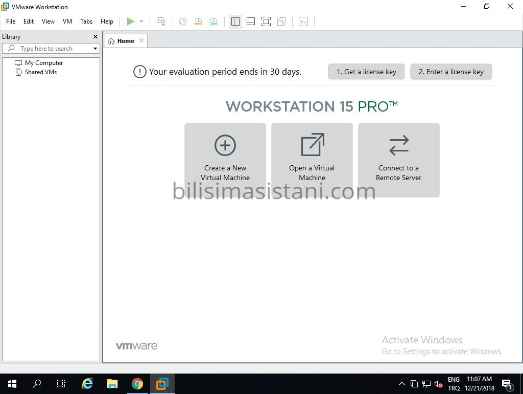 Workstation pro 15